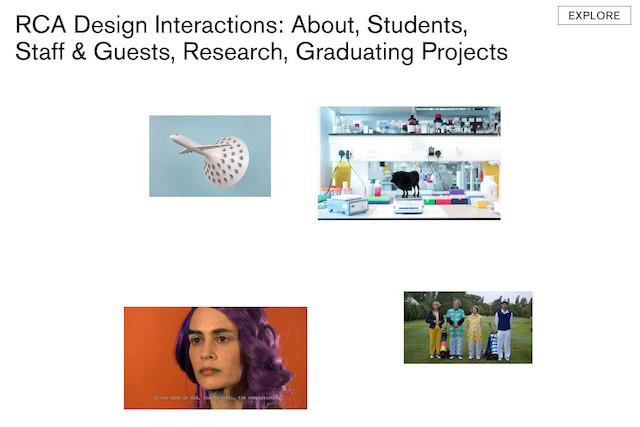 RCA Design Interactions