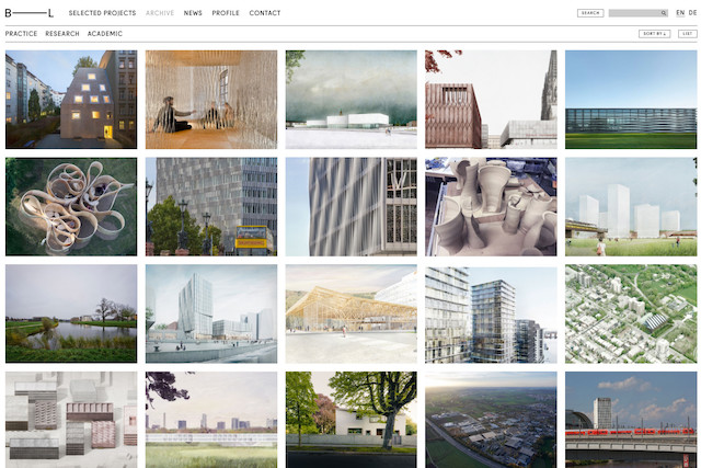 Barkow Leibinger Website