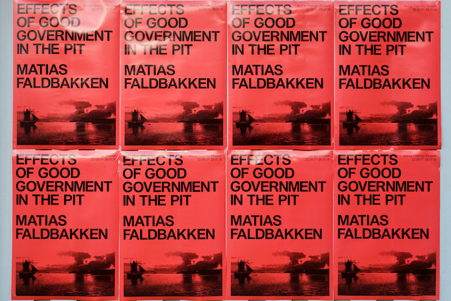 Matias Faldbakken: Effects of Good Government in a Pit